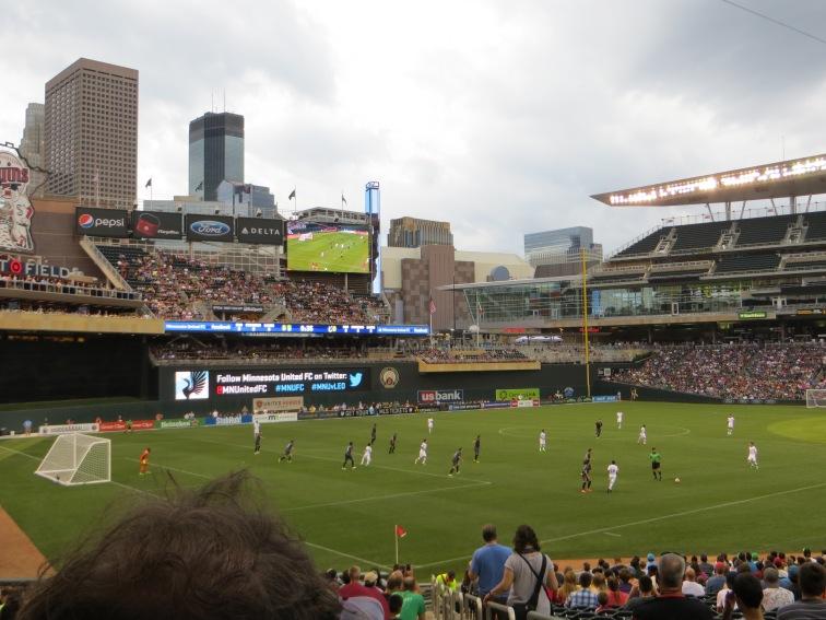 MNUFC vs. Leon - Target Field 1